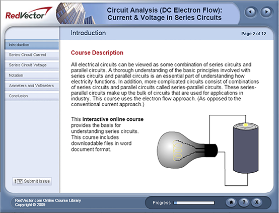 Circuit Analysis (DC Electron Flow): Current & Voltage in Series Circuits