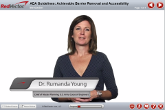 ADA Guidelines: Achievable Barrier Removal and Accessibility (B)
