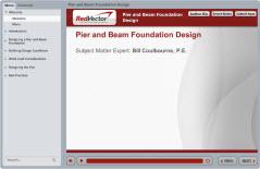 Pier and Beam Foundation Design