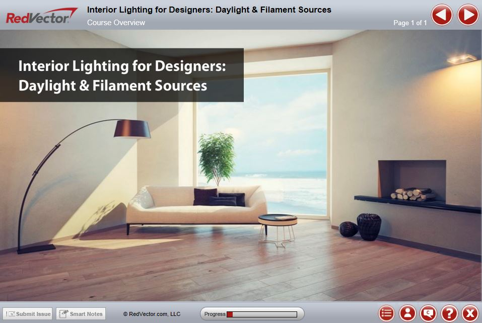 Interior Lighting For Designers Daylight And Filament Sources For Individuals
