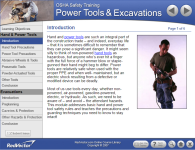 Worksite Safety 08: OSHA Power Tools and Excavations