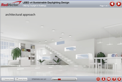 Green Design: Sustainable Daylighting Design (Based on LEED v4)