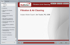 Filtration and Air Cleaning