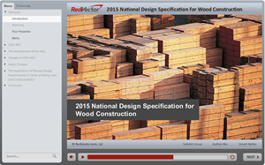 2015 National Design Specification for Wood Construction