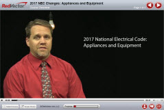 2017 NEC Changes: Appliances and Equipment