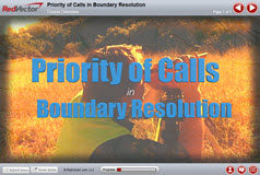 Priority of Calls in Boundary Resolution