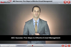 AEC Success: Five Steps to Effective E-mail Management
