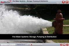 Fire Water Systems – Storage, Pumping & Distribution