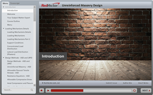 Unreinforced Masonry Design
