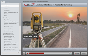 Mississippi Standards of Practice for Surveying