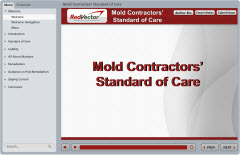 Mold Contractors' Standard of Care