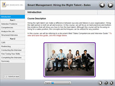 Smart Management: Hiring the Right Talent - Sales