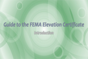 Guide to the FEMA Elevation Certificate V2