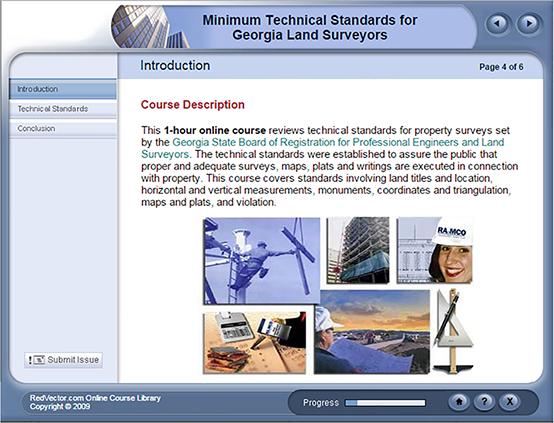 Minimum Technical Standards For Georgia Land Surveyors
