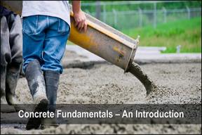 Concrete Fundamentals An Introduction