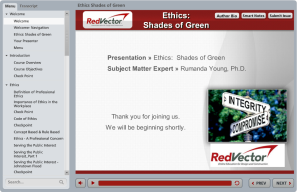 Ethics: Shades of Green
