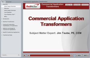 Commercial Application Transformers