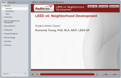 30 Hour LEED AP ND Credentialing Maintenance Program (CMP) Package (Based on LEED v4)