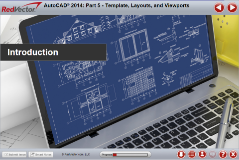 AutoCAD 2014: Part 5 -Template, Layouts, and Viewports