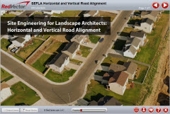 Site Engineering For Landscape Architects Horizontal And Vertical Road Alignment