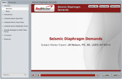 Seismic Diaphragm Demands