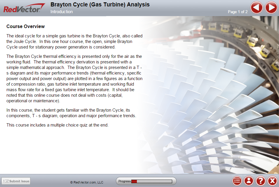 Brayton Cycle Analysis