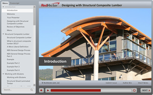 Designing with Structural Composite Lumber