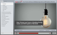 Past, Present and Future of Building Energy Codes and DOE Appliance Mandates