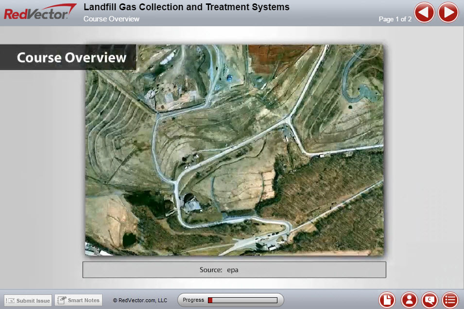 Landfill Gas Collection and Treatment Systems