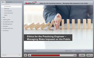 Ethics for the Practicing Engineer - Managing Risks Imposed on the Public