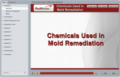 Chemicals Used in Mold Remediation