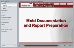 Mold Documentation and Report Preparation