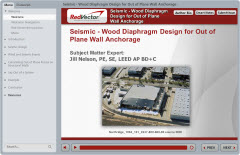 Seismic - Wood Diaphragm Design for Out of Plane Wall Anchorage